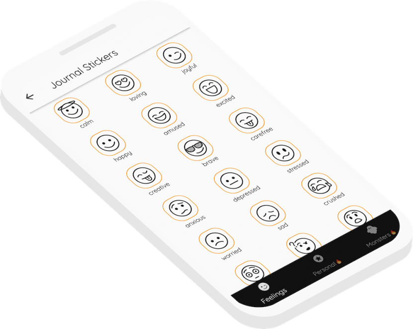 The Pointo voice journal app allows you to track your emotional state